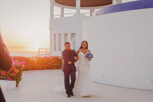 Un mariage de rêve à la Villa Clara Vista à Cabo San Lucas, Mexique