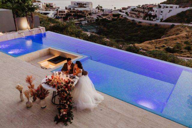 Mariage de luxe à destination de Cabo San Lucas au Mexique