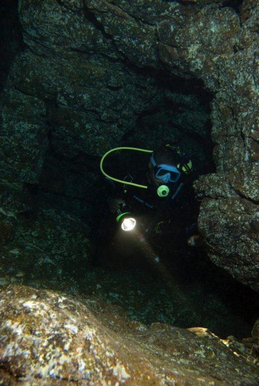 Dive sites dois olhos Cabo Verde1