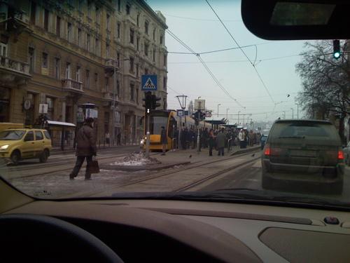 Trafic in Budapesta BMW X5
