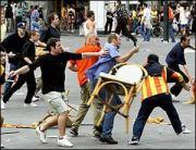 huligani violenta Steaua Rapid