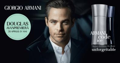 Parfumerie Douglas   Home»Armani Code Ice avanpremiere