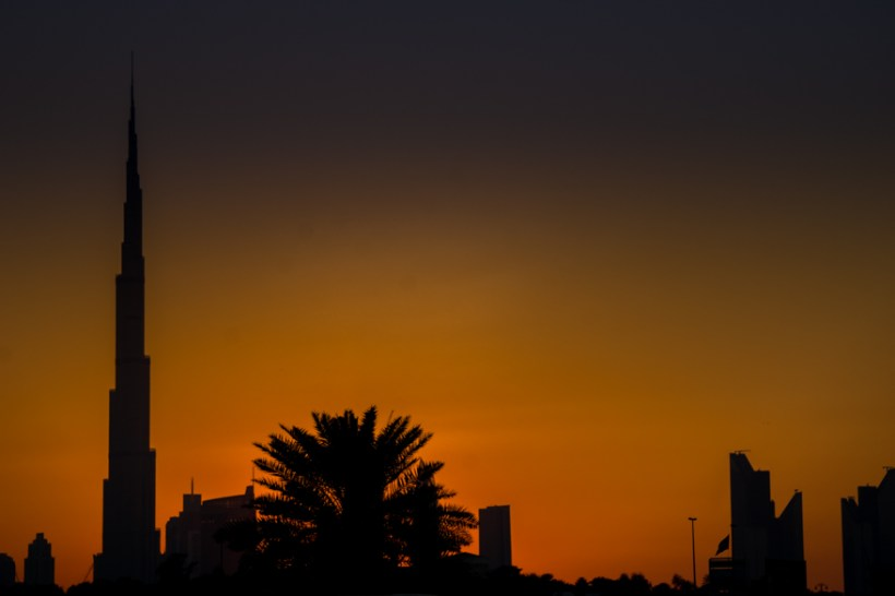 beautiful and gorgeous Sunset in Dubai 2015 (1 of 1)