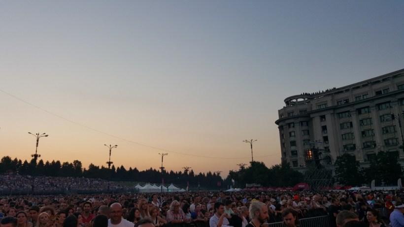 Robbie Williams București 2