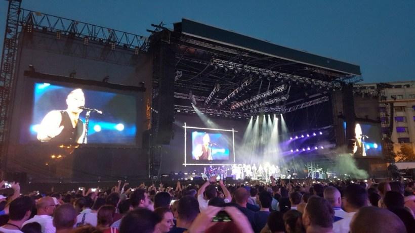 Robbie Williams București 3