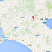 Pitigliano map