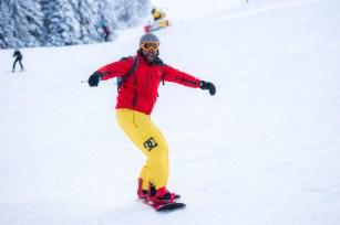 Cabral Ibacka snowboarding Lacul Sfanta Ana (1 of 1)