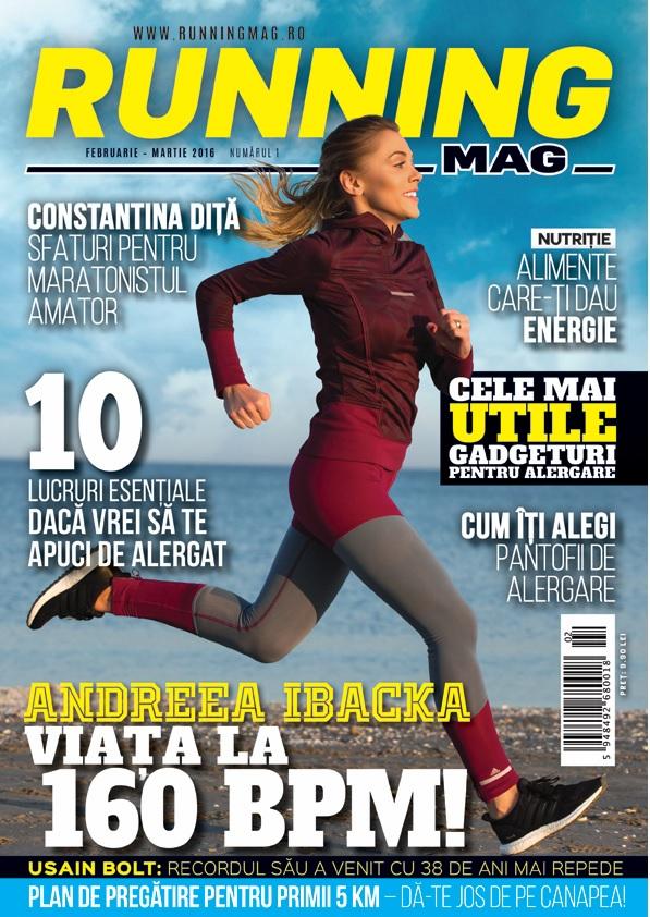 Andreea Ibacka RunningMag februarie martie 2016