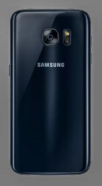 Galaxy S7 Black Onyx Back