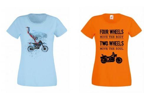 tricouri moto fete