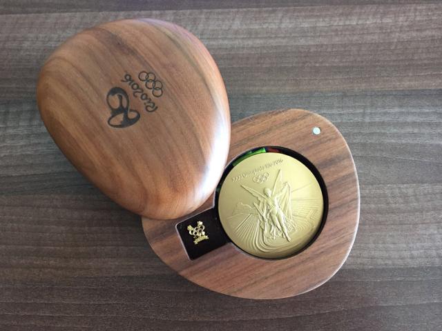 Medalie de aur Rio 2016 - 1