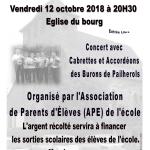 Concert APE Saint Mamet La Salvetat