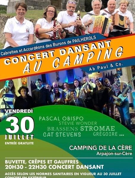 """Concert dansant"""