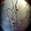 Small Seahorse Earrings