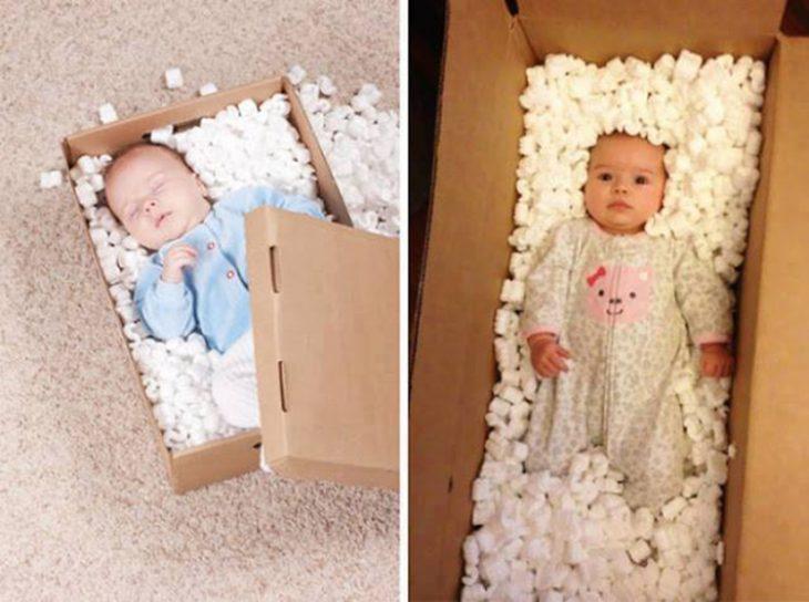 Expectativa vs realidad en fotos de niños pequeños8