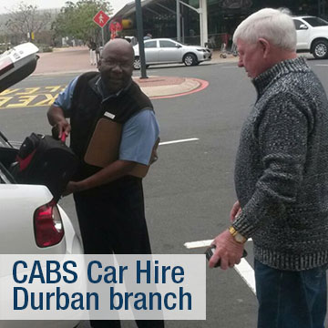 Durban Region - CABS Car Hire