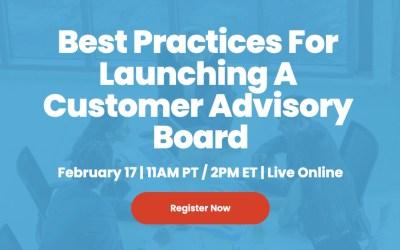 Feb 17, 2021 CAB Best Practices panel discussion