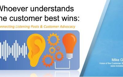 Customer Advisory Boards & Listening Posts