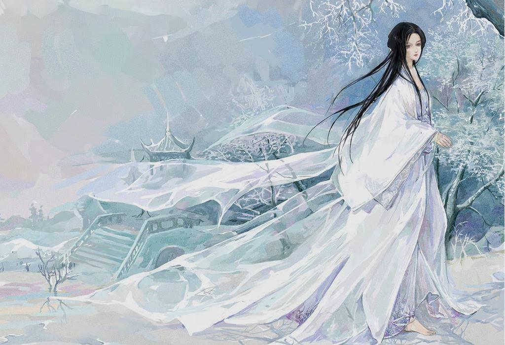 Tsurara onna, legend, Japanese tale, Japan, anime, story, white, snow, winter, yuki,  amreading, author blog, blogseries,