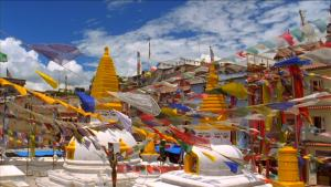 2017 1006 Nepal 147242420-kora-boudhanath-prayer-flag-pilgrimage-site
