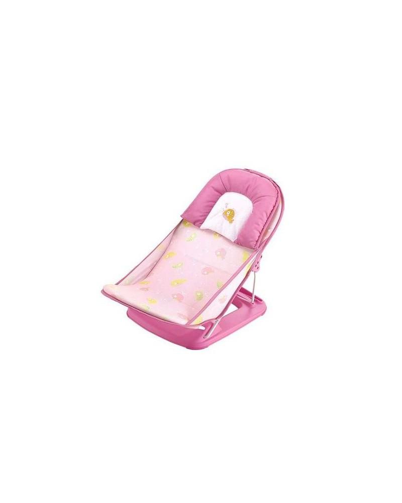 siege de bain pour bebe rose