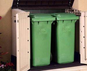 bien choisir son cache poubelle cache