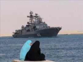 Buque de guerra ruso zarpa rumbo a Siria para recoger datos del conflicto