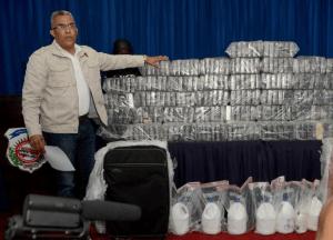 DNCD critica a jueza por liberar a venezolanos apresados con 359 kilos de cocaína en La Romana