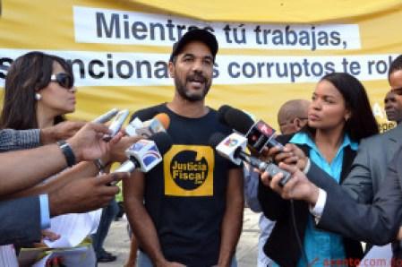 Primera Parada Ciudadana contra la Corrupción y la Impunidad.