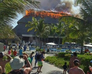 Incendio en Hard Rock Punta Cana 1