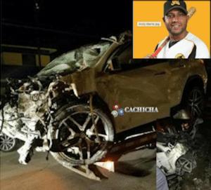 Fallece en un accidente de tránsito Andy Marte, pelotero de las Águilas Cibaeñas