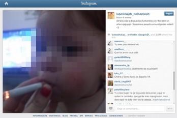 Madre sube a Instagram una fotografía en la que pone a su bebé a fumar