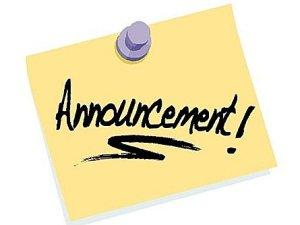 ca announcement
