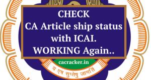 ca articleship status