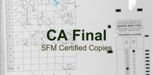 CA Final SFM Certified Copies