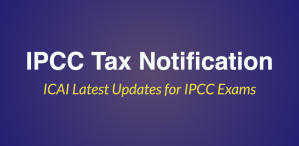 IPCC Tax Notification nov 2017