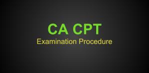 CA CPT December 2017