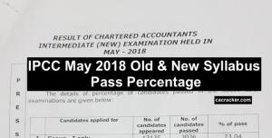 ipcc pass percentage
