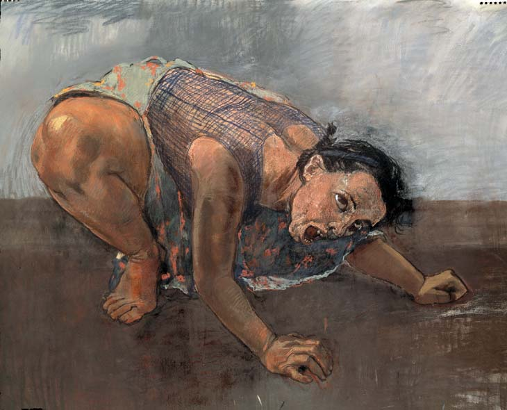 Dog Woman by Paula Rego