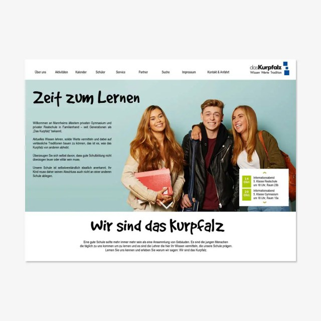 dasKurpfalz: Website