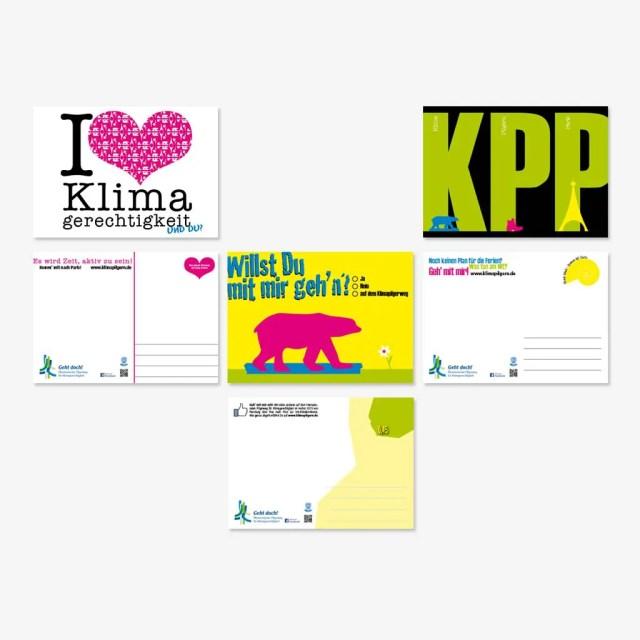 Ökumenischer Pilgerweg für Klimagerechtigkeit: Bundesweite Postkartenaktion für Jugendliche