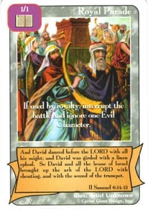 Royal Parade card from Redemption The Card Game