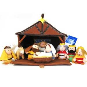 Nativity Plush bible toys and games