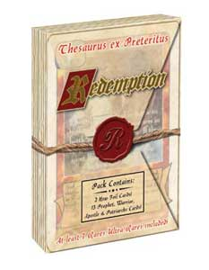 Redemption The Card Game Starter Red Thess