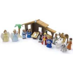 Nativity set figures bible toys and games