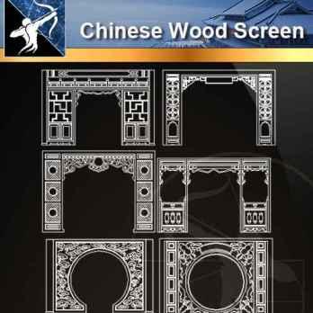 ☆【Architecture Decoration Design Element CAD Blocks V 1