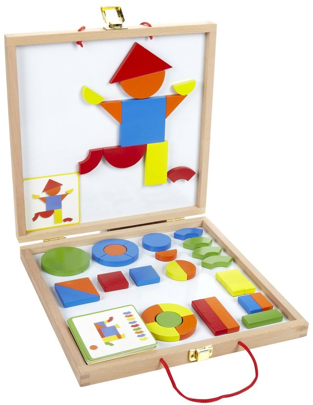 ... Shop / Baby & Child / Toys and Games / Djeco Wooden Magnetics Geoform