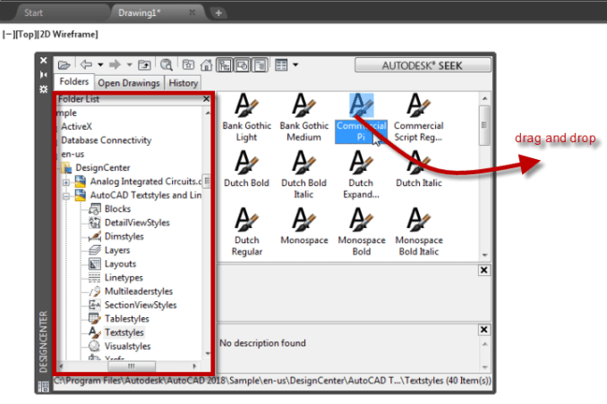 Keep the Template Simple: Import from External Files – Free Autocad