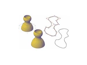 Ejemplo de la acción del comando CVHIDE. La cual apaga los vertices prendidos con el CVSHOW.