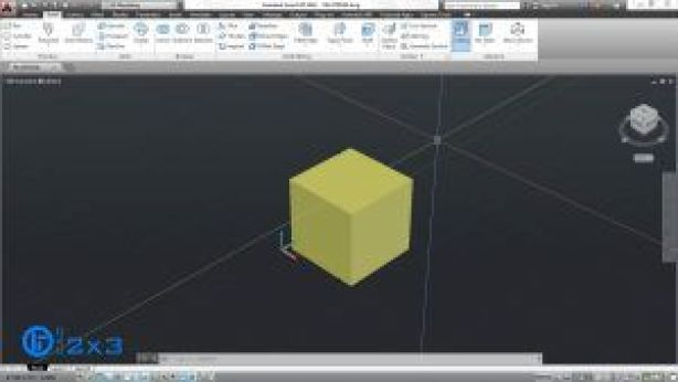 Ubica el solido 3D al que aplicaras el comando FILLET EDGE.